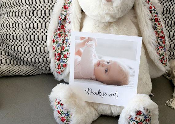 Bedankkaartjes Geboorte