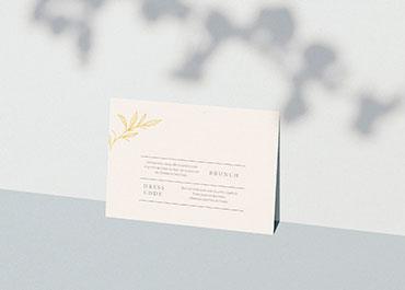 Uitnodigingskaarten Bruiloft