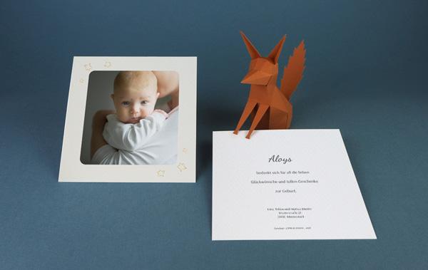 Bedankkaartjes Geboorte De Kleine Prins