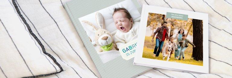 Album photo carré 20cm x 20cm